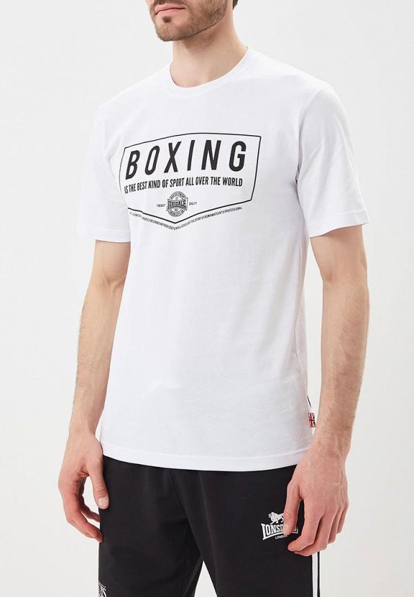 Купить Футболка Lonsdale, LO789EMBIQX4, белый, Весна-лето 2018