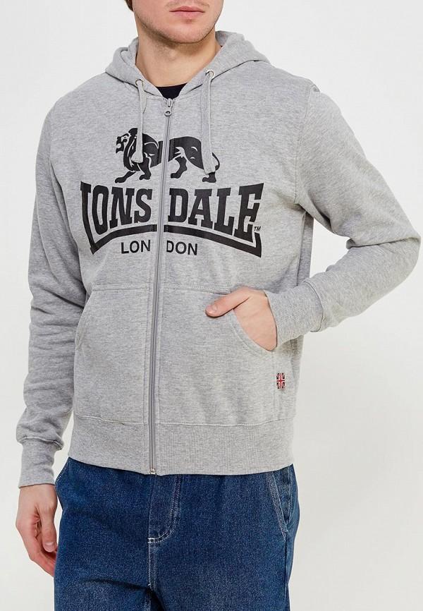 Толстовка Lonsdale Lonsdale LO789EMCK859 шорты джинсовые lonsdale lonsdale lo789emcdg82