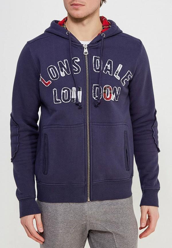 Толстовка Lonsdale Lonsdale LO789EMCSC38 шорты джинсовые lonsdale lonsdale lo789emcdg82