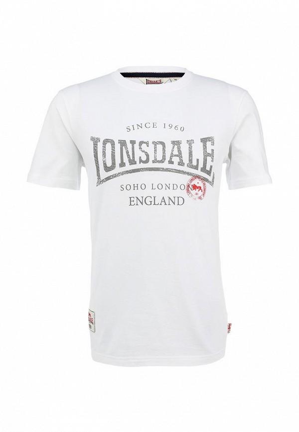 Футболка с надписями Lonsdale MTS009