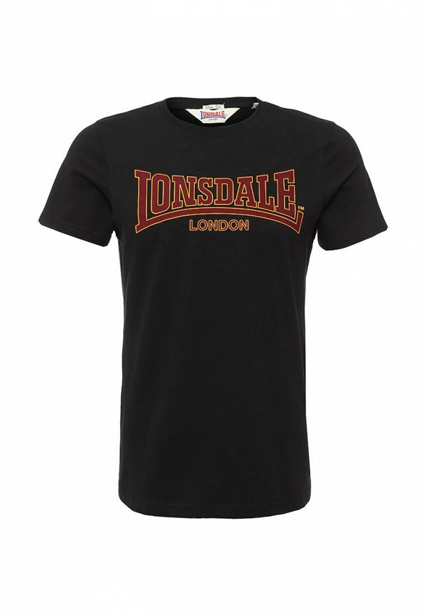 Футболка с надписями Lonsdale 111001