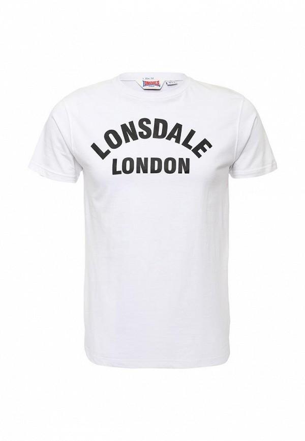 Футболка с надписями Lonsdale 112002