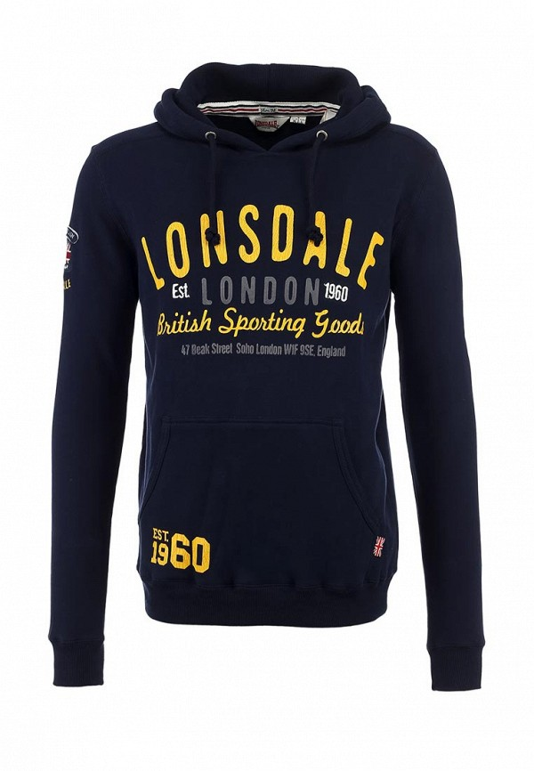 Худи Lonsdale Lonsdale LO789EMJH506 lonsdale msg001