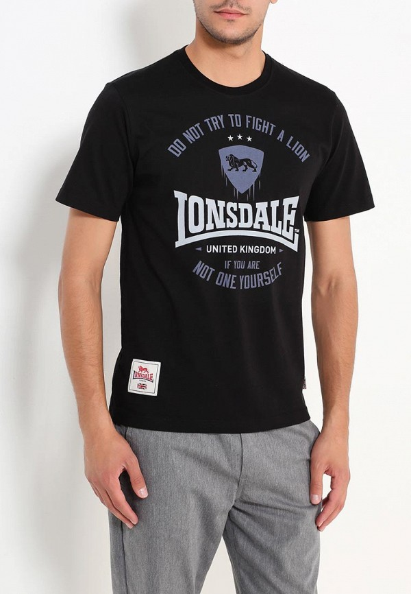 Футболка Lonsdale Lonsdale LO789EMUIC44 футболка lonsdale lonsdale lo789emuic60