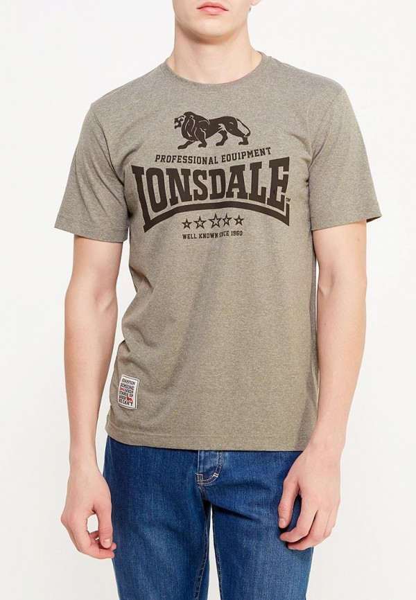 Футболка Lonsdale Lonsdale LO789EMYBR31 футболка lonsdale lonsdale lo789emuic60