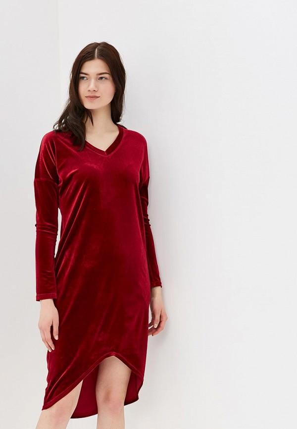 Купить Платье Love & Light, LO790EWASHV8, бордовый, Весна-лето 2018