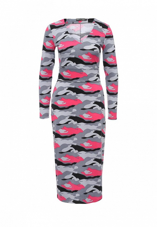 Вязаное платье Love & Light plvplz170406