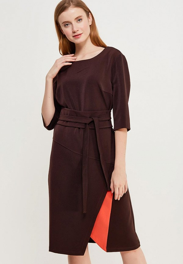 Купить Платье Love & Light, LO790EWZVH63, коричневый, Весна-лето 2018
