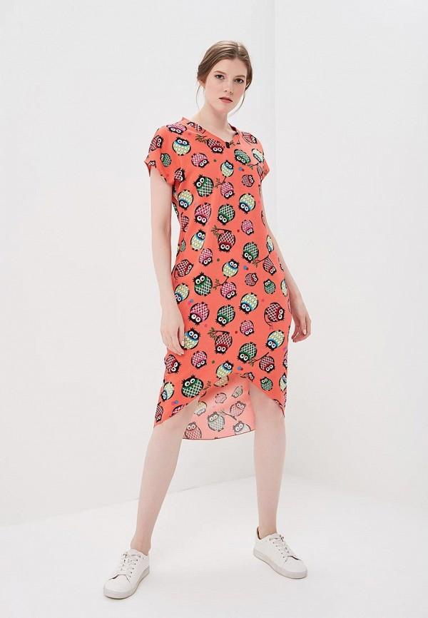 Платье Love & Light, LO790EWZVH67, красный, Весна-лето 2018  - купить со скидкой