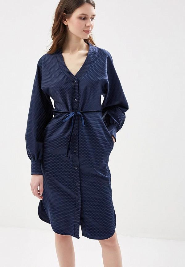 Платье Love & Light, LO790EWZVH71, синий, Весна-лето 2018  - купить со скидкой