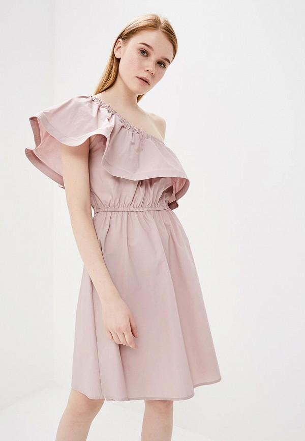 Платье Lusio, LU018EWAONB0, розовый, Весна-лето 2018  - купить со скидкой