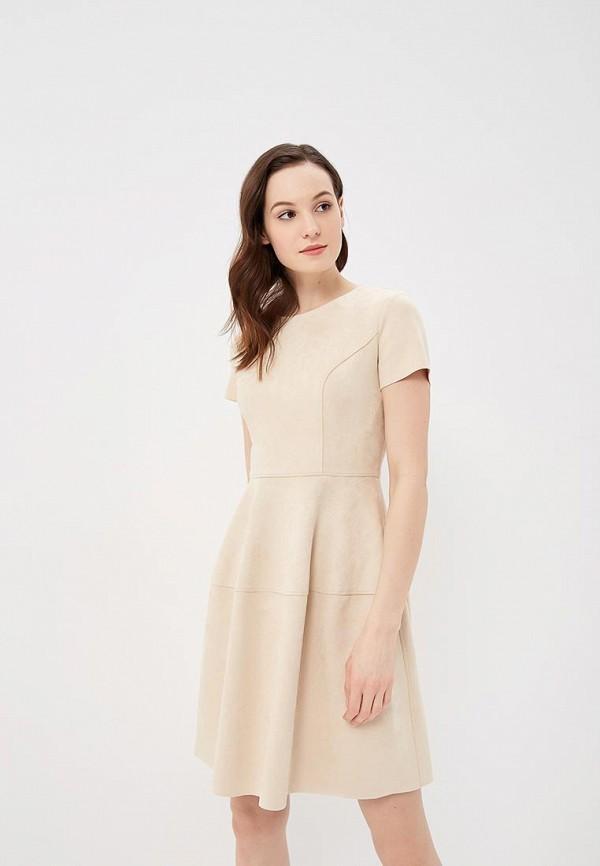 Купить Платье Lusio, LU018EWAYJP4, бежевый, Весна-лето 2018