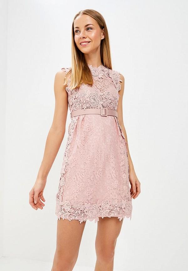 Купить Платье Lusio, LU018EWBEBY2, розовый, Весна-лето 2018