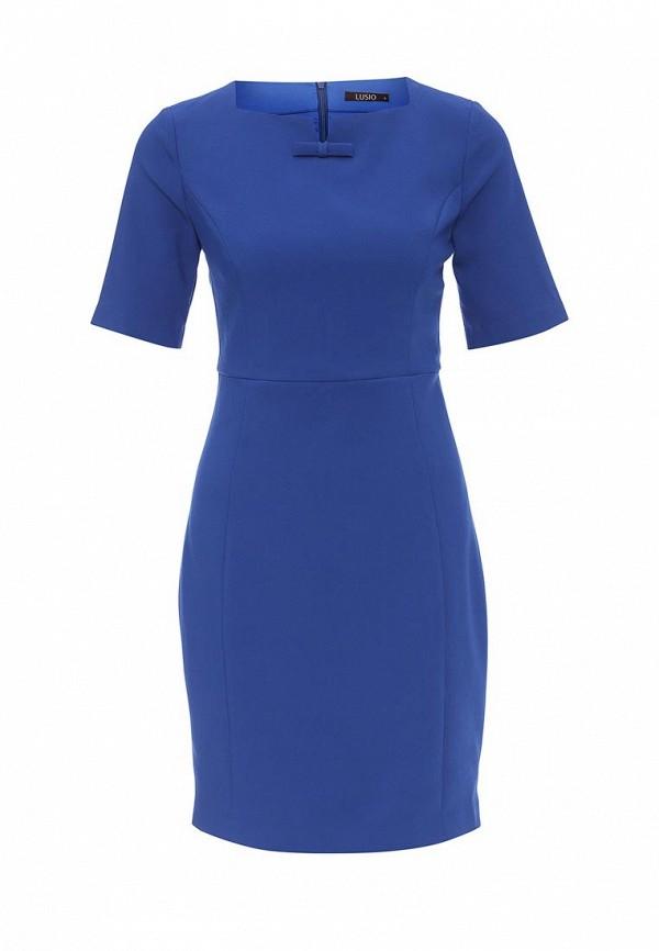Вязаное платье Lusio AW16-020215
