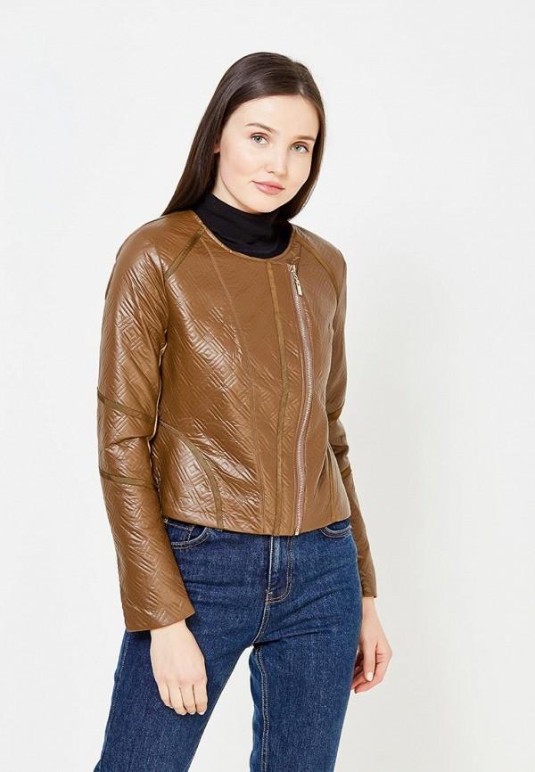 Куртка кожаная Lucy & Co. Lucy & Co. LU024EWYDJ95 lucy