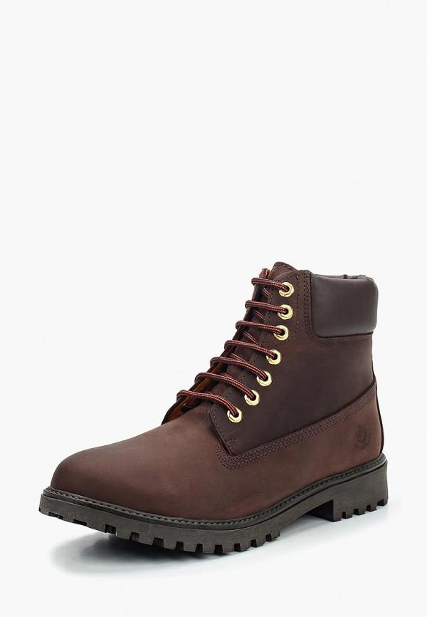 Фото - мужские ботинки и полуботинки LumberJack коричневого цвета