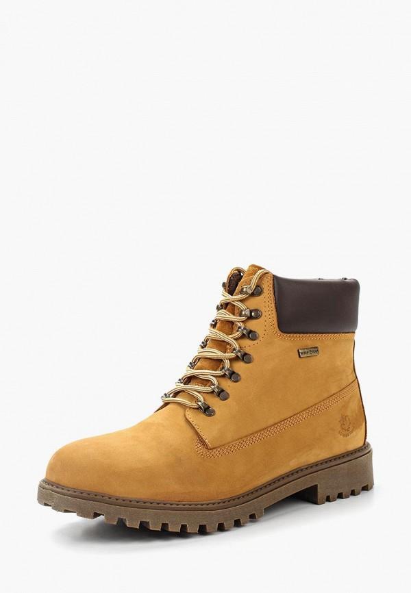 Фото - мужские ботинки и полуботинки LumberJack желтого цвета