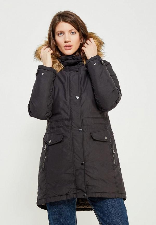 Фото - Куртку утепленная Luhta черного цвета