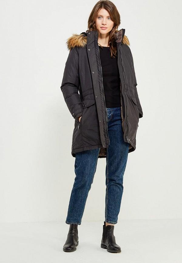 Фото 2 - Куртку утепленная Luhta черного цвета