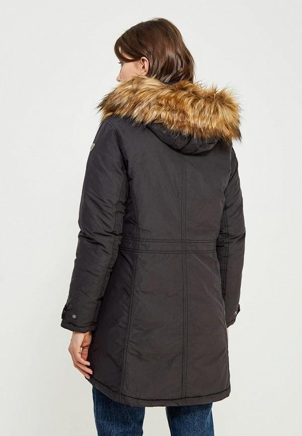 Фото 3 - Куртку утепленная Luhta черного цвета