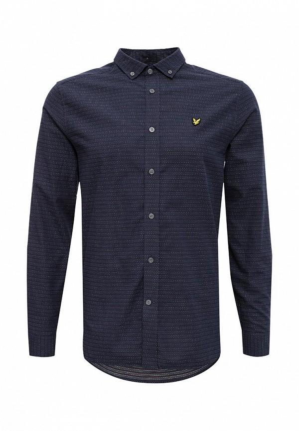 Купить Рубашку Lyle & Scott синего цвета