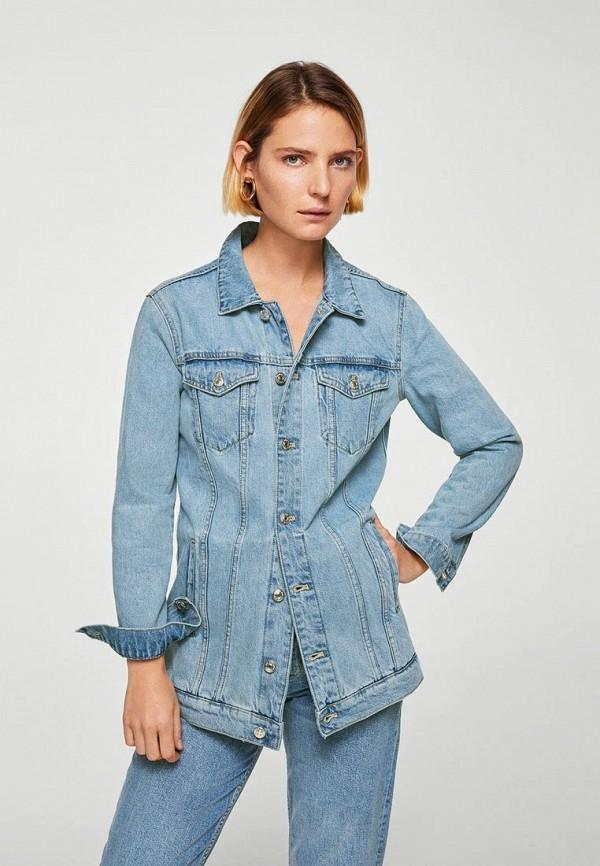 Куртка джинсовая Mango Mango MA002EWAQYC2 лоферы mango man mango man he002amzsf07