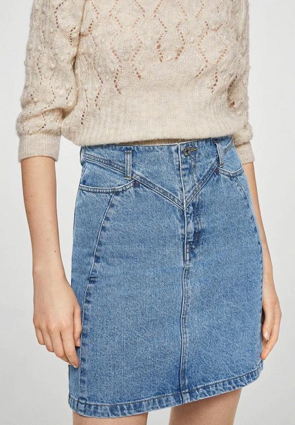 Фото Юбка джинсовая Mango. Купить с доставкой