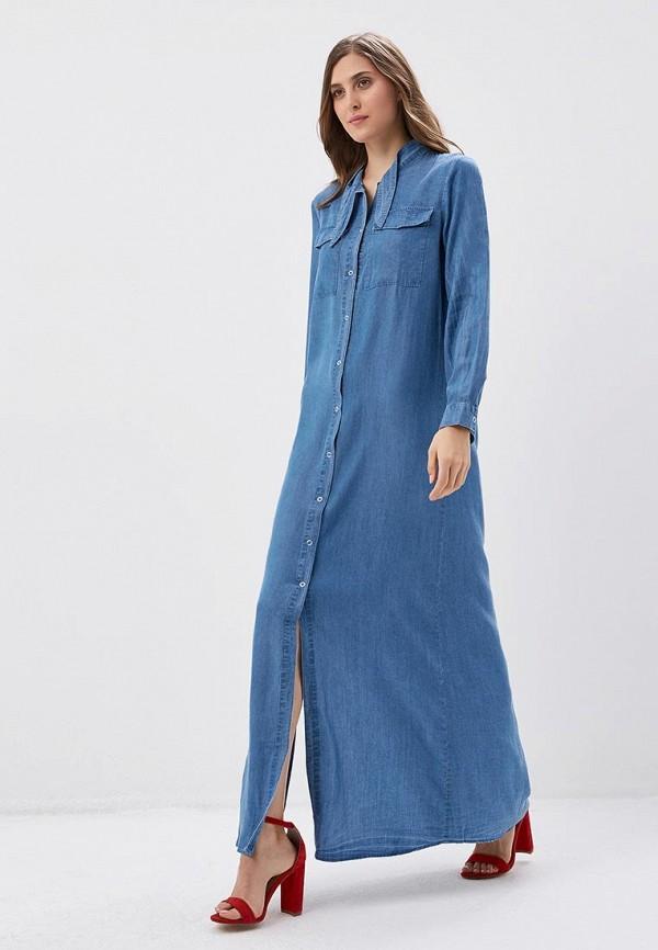 Платье джинсовое Mango Mango MA002EWAQYG7 платье violeta by mango violeta by mango vi005ewycx30