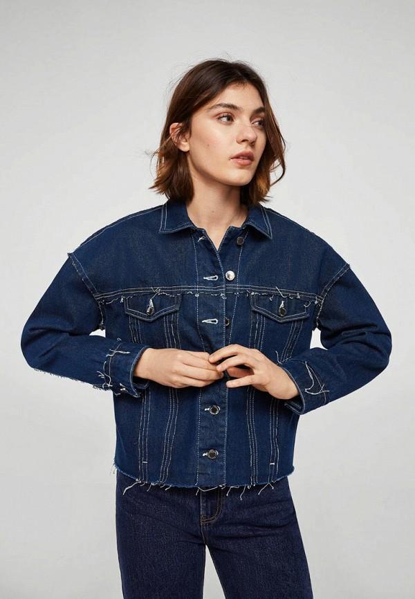 Куртка джинсовая Mango Mango MA002EWAQZE8 куртка кожаная mango mango ma002ewvur15