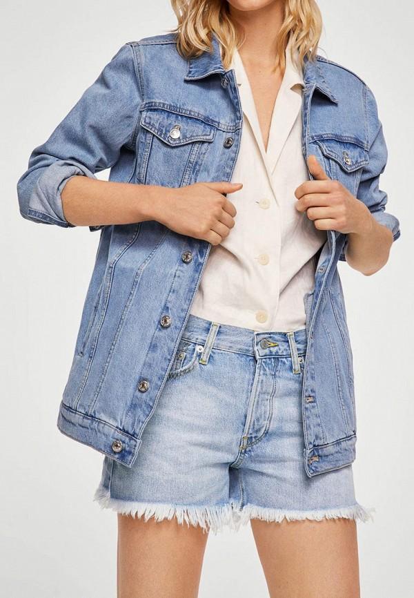 Фото Шорты джинсовые Mango. Купить с доставкой