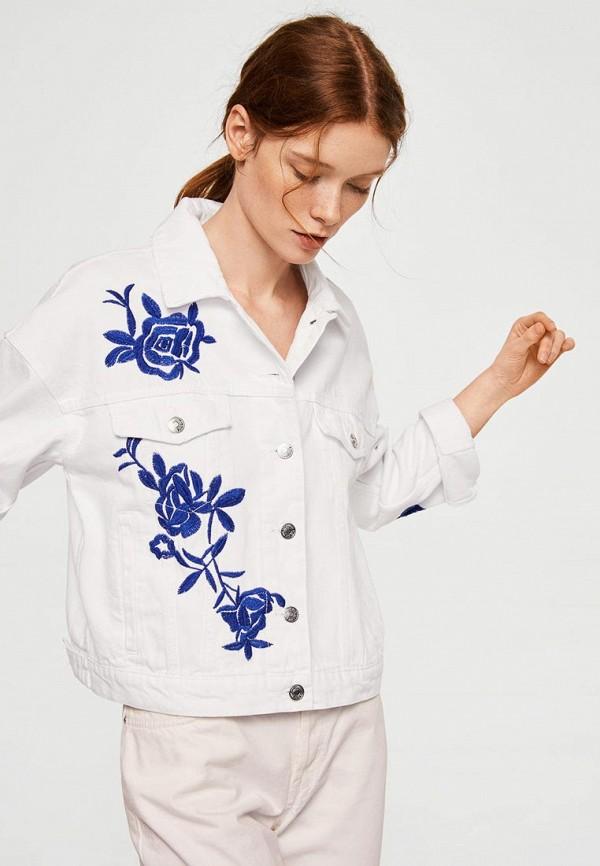 Фото Куртка джинсовая Mango. Купить с доставкой