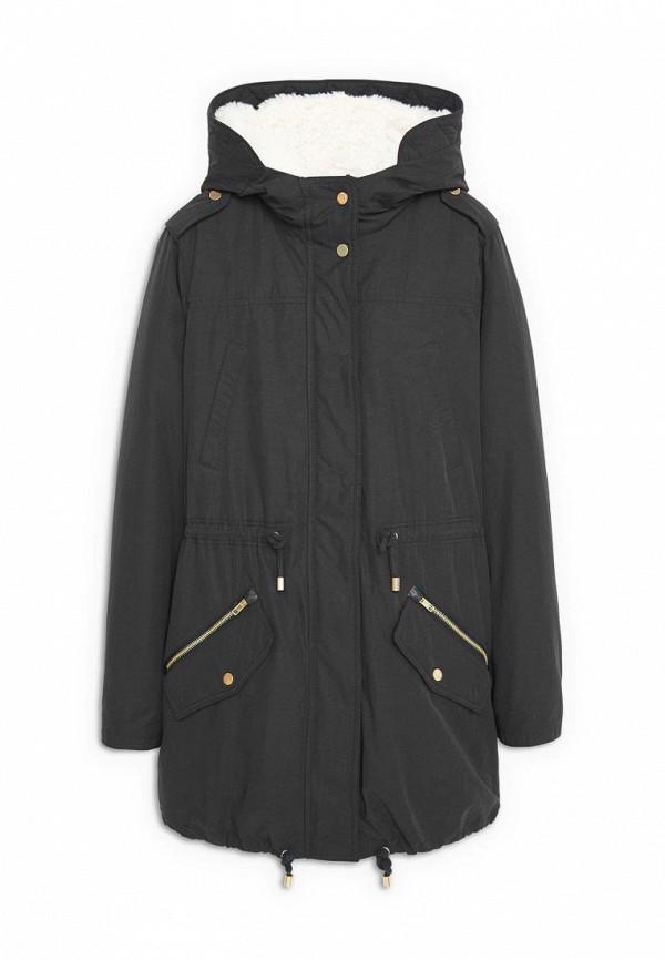 Длинное хлопковое пальто Mango