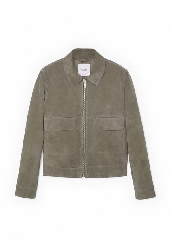 Кожаная куртка Mango (Манго) 63035000