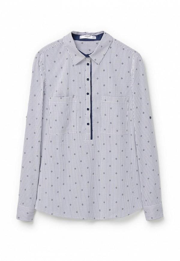 Серая блузка Mango