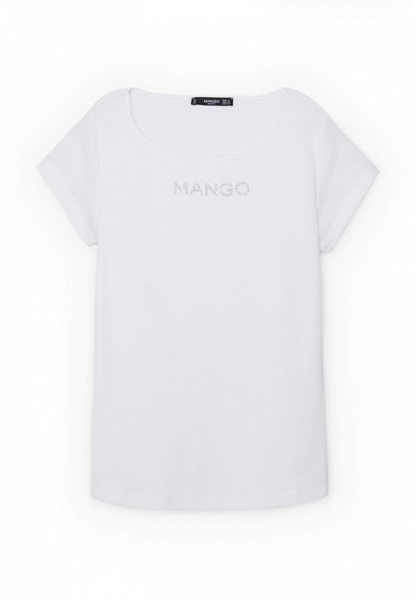 Футболка с надписями Mango (Манго) 63083585
