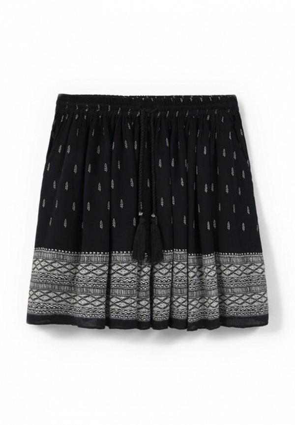Широкая юбка Mango (Манго) 63057532