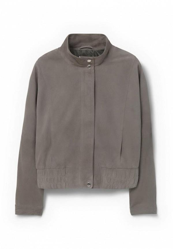 Кожаная куртка Mango (Манго) 63098804