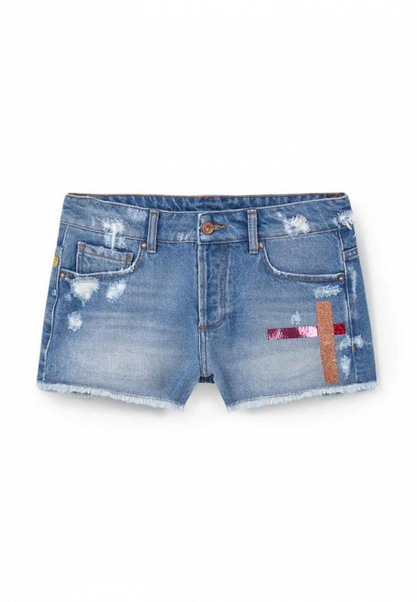 Женские джинсовые шорты Mango (Манго) 63098812