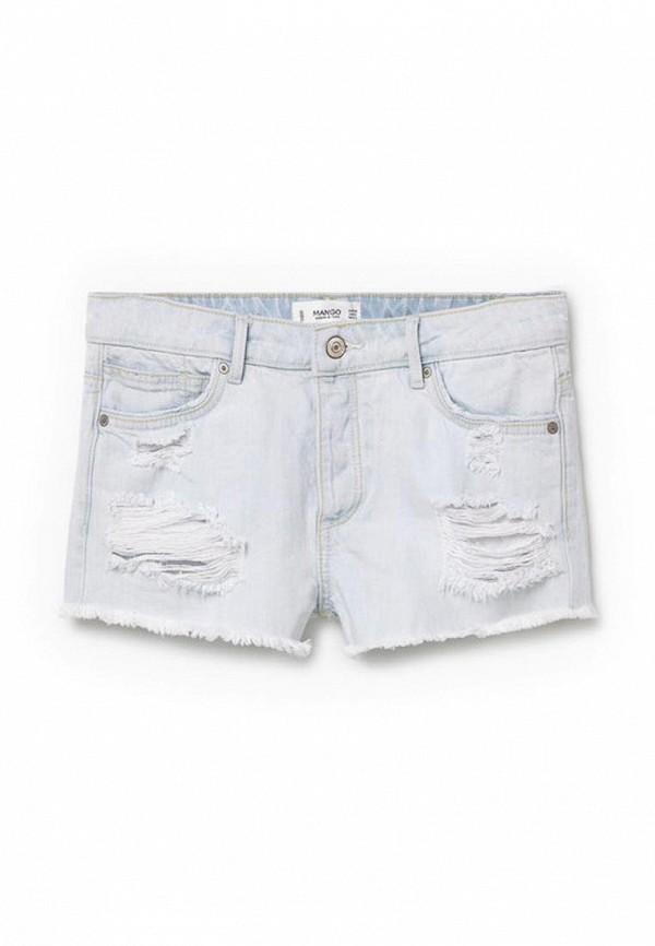 Женские джинсовые шорты Mango (Манго) 73020075