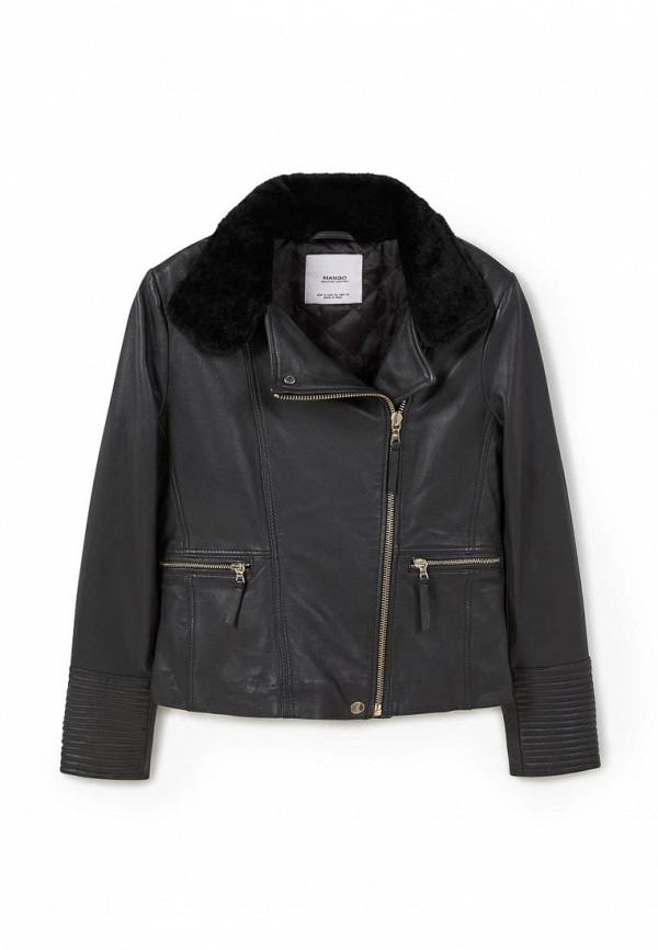 Кожаная куртка Mango (Манго) 73080062