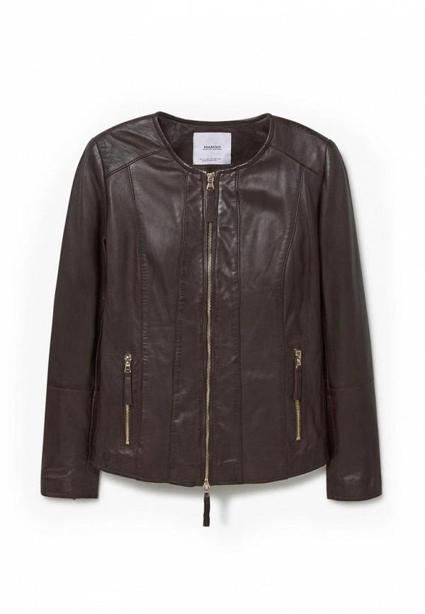 Кожаная куртка Mango (Манго) 73030063