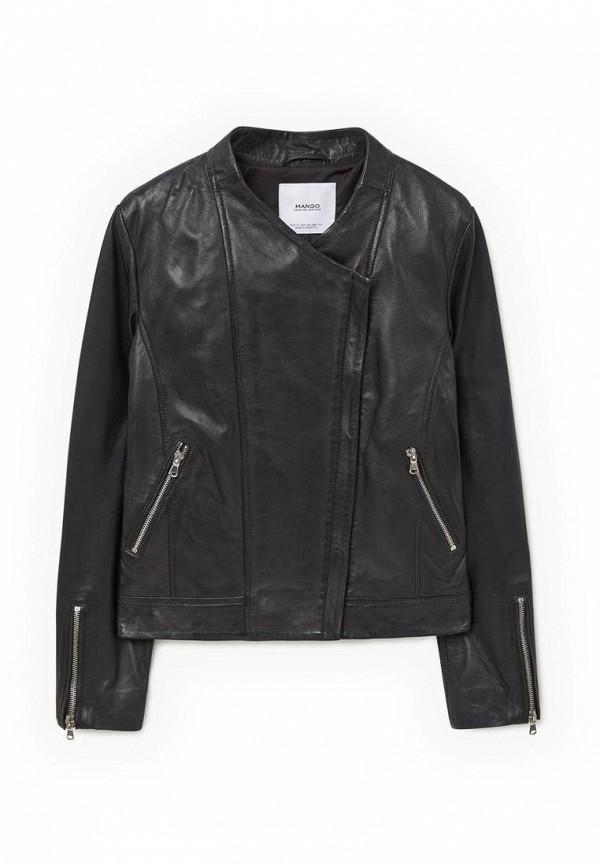 Кожаная куртка Mango (Манго) 73093501