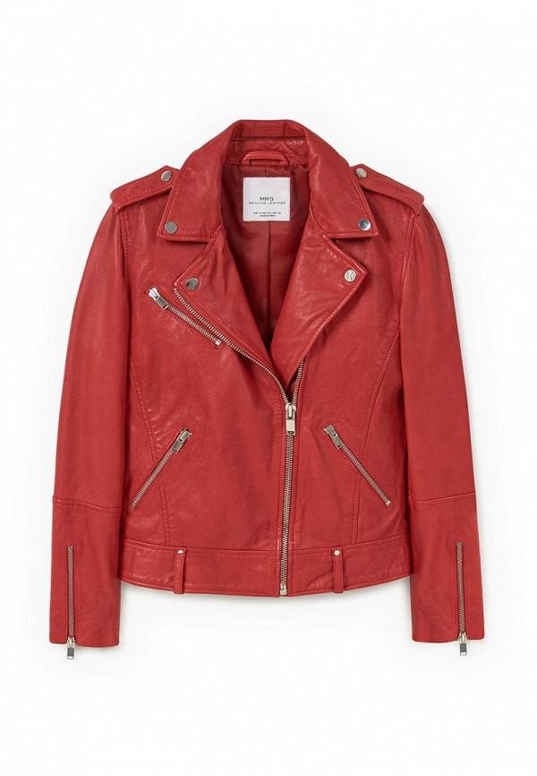 Кожаная куртка Mango (Манго) 73080217
