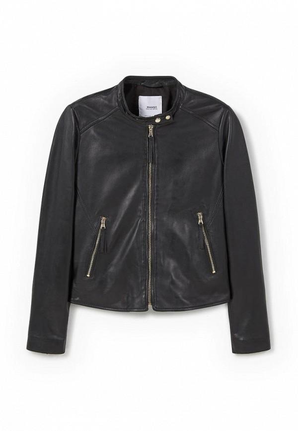 Кожаная куртка Mango (Манго) 73043507