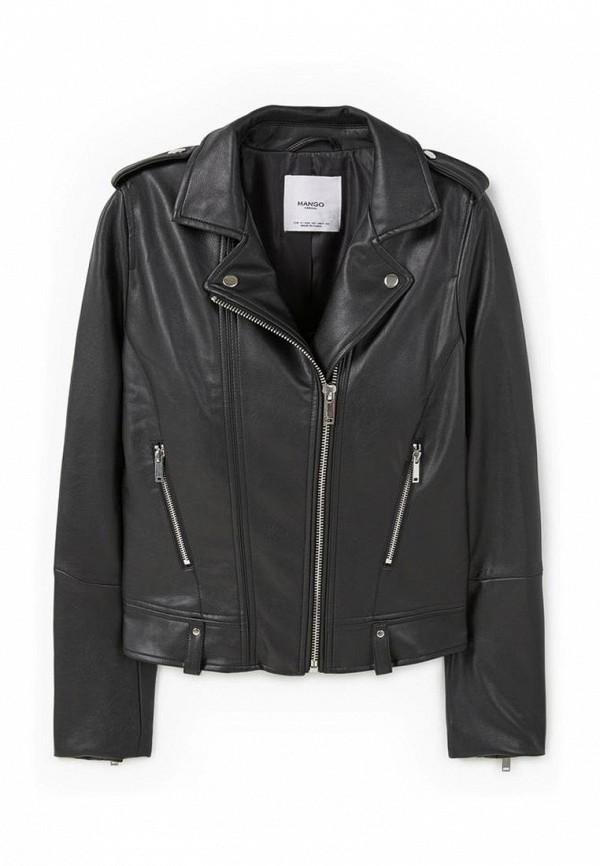 Кожаная куртка Mango (Манго) 73065535