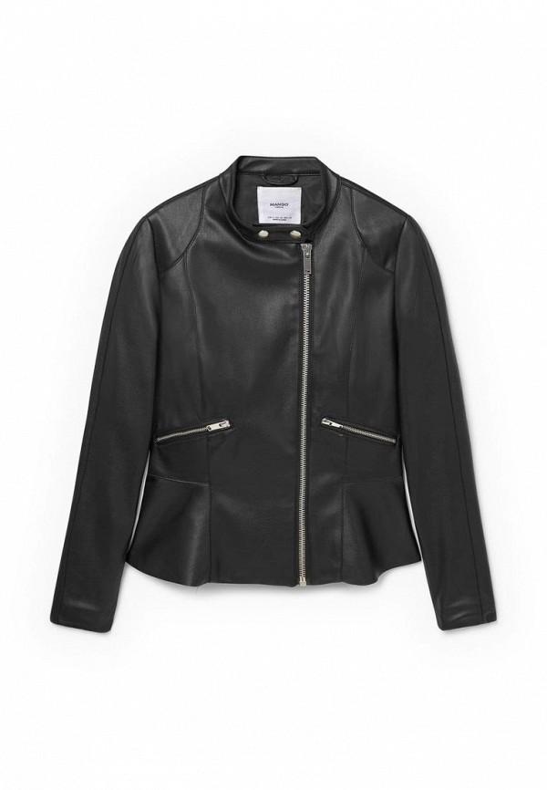 Кожаная куртка Mango (Манго) 73065536