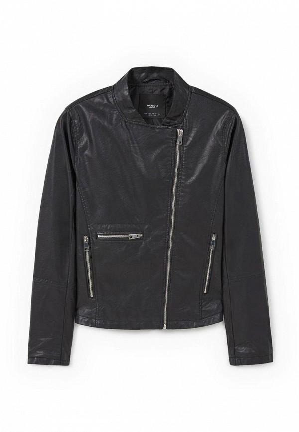 Кожаная куртка Mango (Манго) 73043595