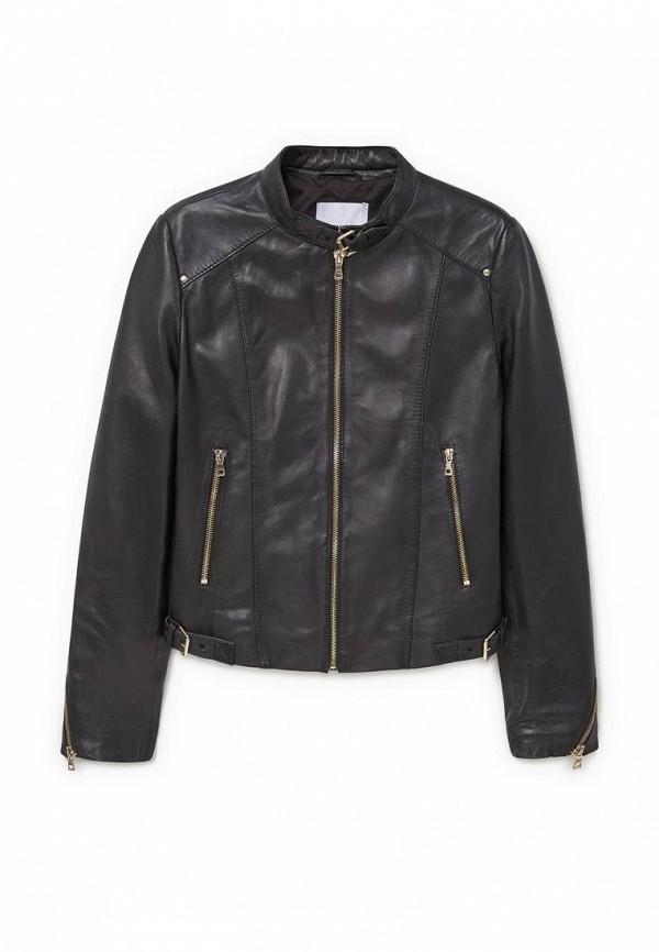 Кожаная куртка Mango (Манго) 73063502