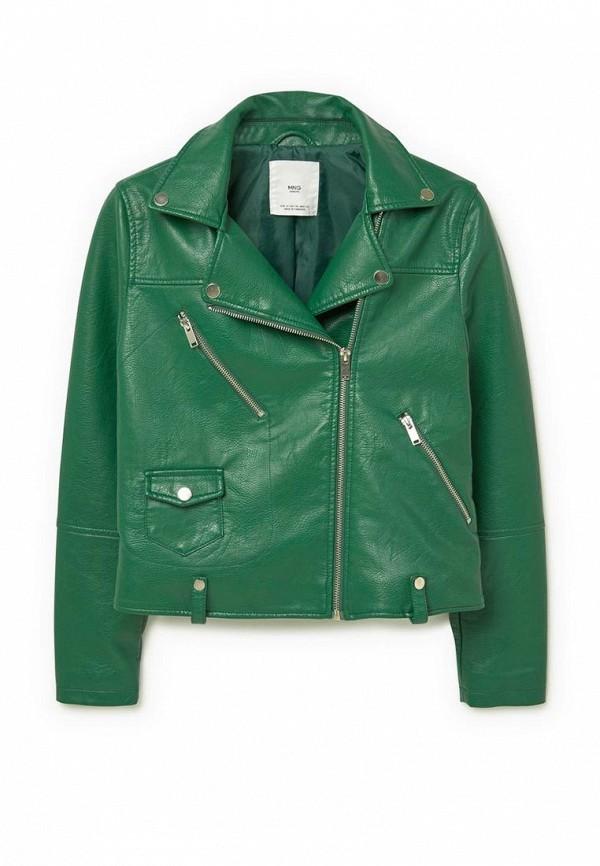 Кожаная куртка Mango (Манго) 73077010