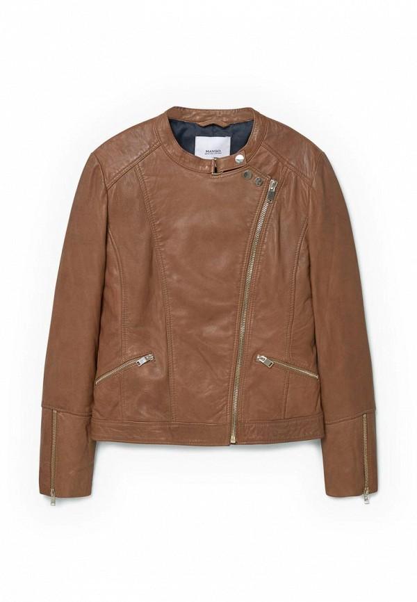 Кожаная куртка Mango (Манго) 73083501